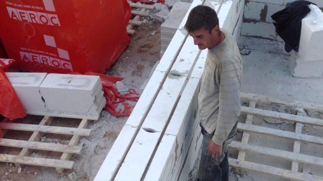 Армирование газобетонной кладки