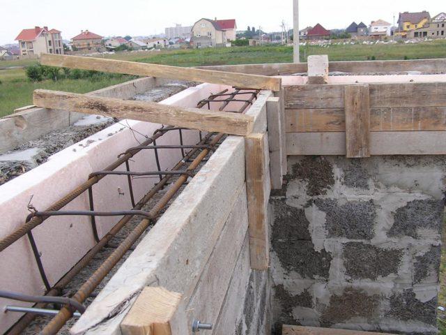 Это необходимо для защиты стен от нагрузок, возникающих под воздействием внешних/внутренних факторов