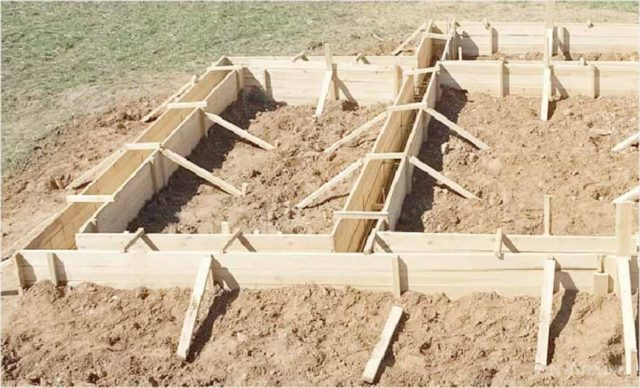 Если говорить о строительстве, то эта система необходима при заливке фундамента любого типа