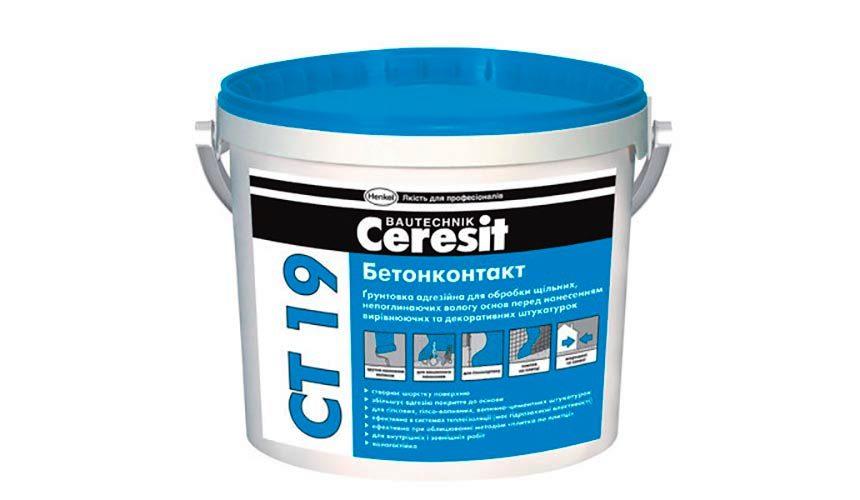 Ceresit CT 19 бетоноконтакт