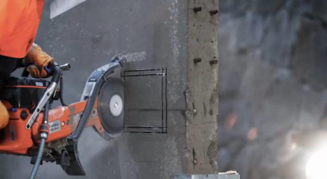 Алмазное бурение бетона применяется в различных строительных работах