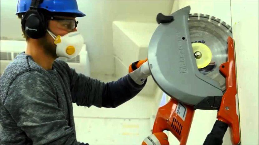 Особенности метода алмазной резки бетона