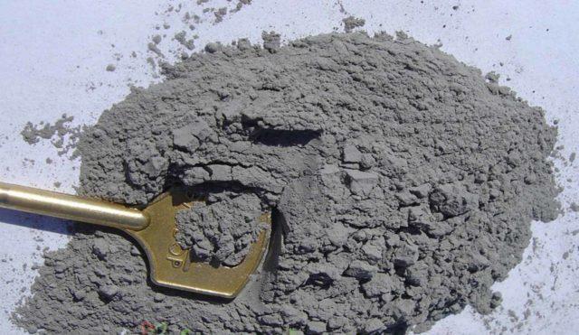 Основной технической характеристикой является марка цемента