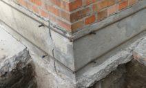 Как укрепить фундамент частного дома?