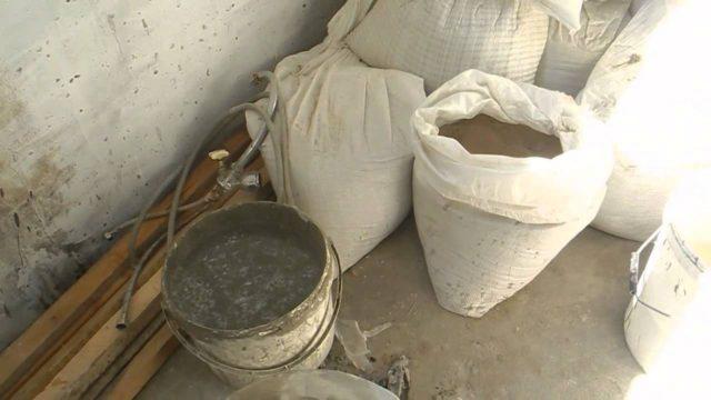 Цементный раствор для пола в бане пропорции бетон купить бизнес в