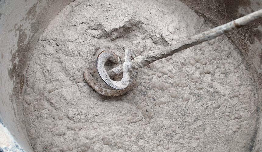 Раствор для кладки кирпича в ведре