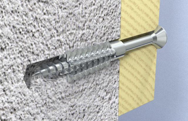 Ими можно пользоваться при фиксировании к газоблоку каркасов под гипсокартон и других строительных конструкций