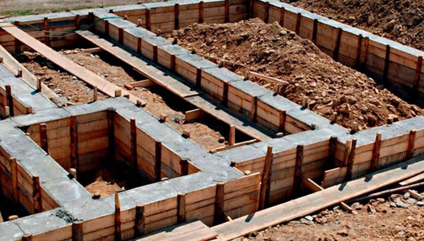 Расход бетона на кубометры