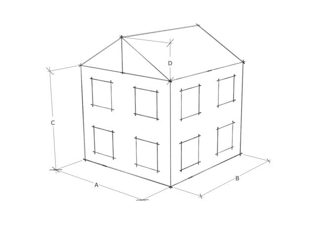 В расчет берется определение общего объема и веса с учетом кладочного раствора, площади кладочной сетки и суммарной нагрузки на фундамент