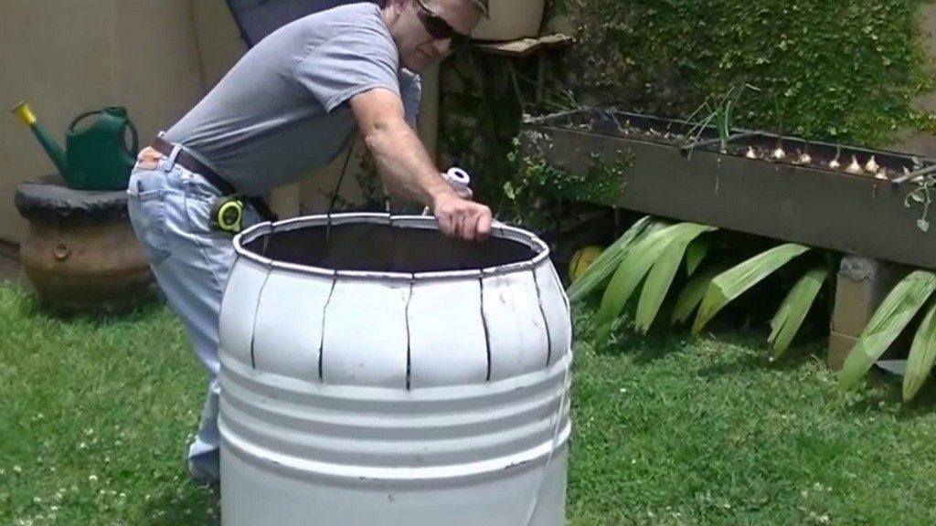 Бочка для бетономешалки
