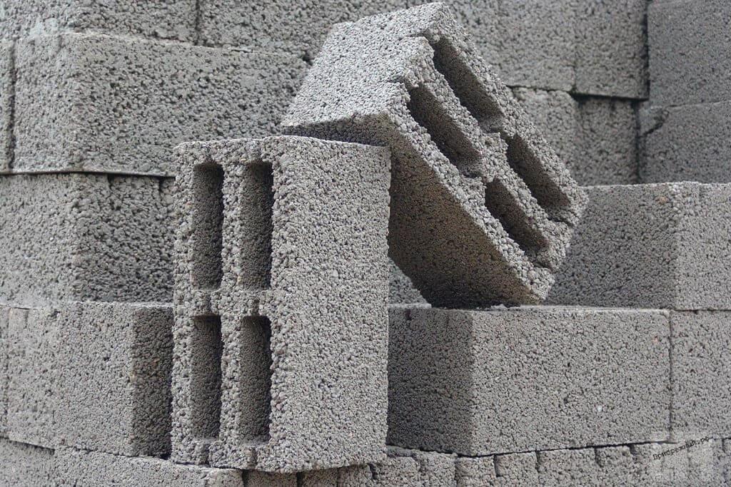 Блоки керамзитные