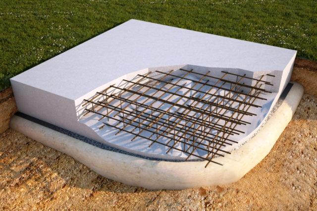 Перед тем как строить плитный фундамент, плюсы и минусы конструкции необходимо рассмотреть