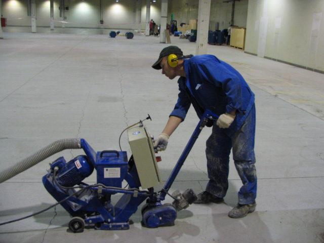 Шлифование бетона это трещины в бетоне виды