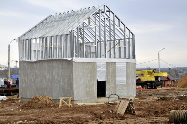 Основное применение панели ЦСП находят при изготовлении перегородок и различных стеновых конструкций