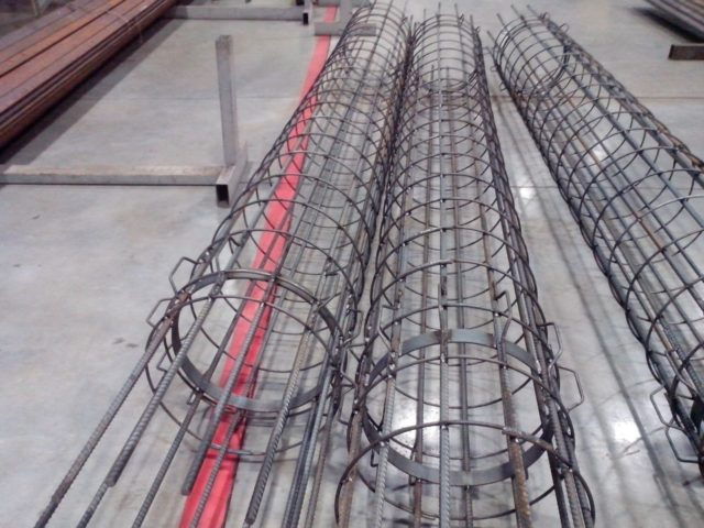 Для выбора необходимой арматуры стоит учитывать общий вес будущего сооружения