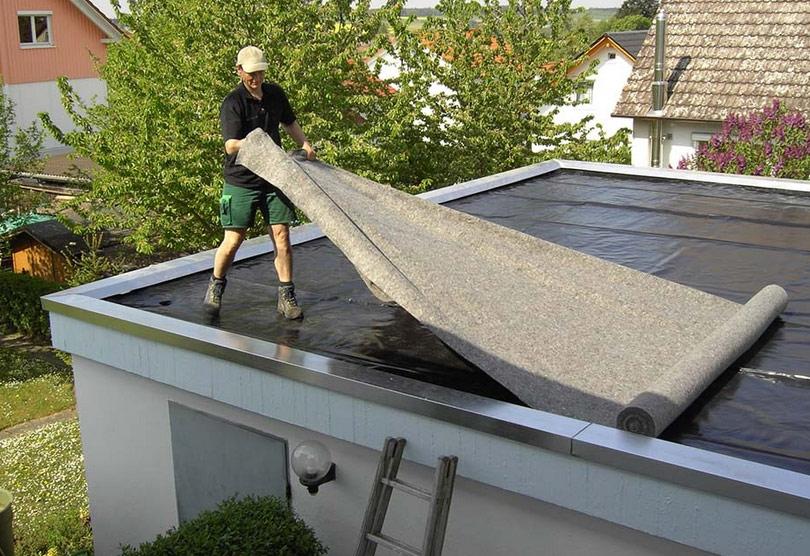Чем лучше перекрыть крышу гаража?