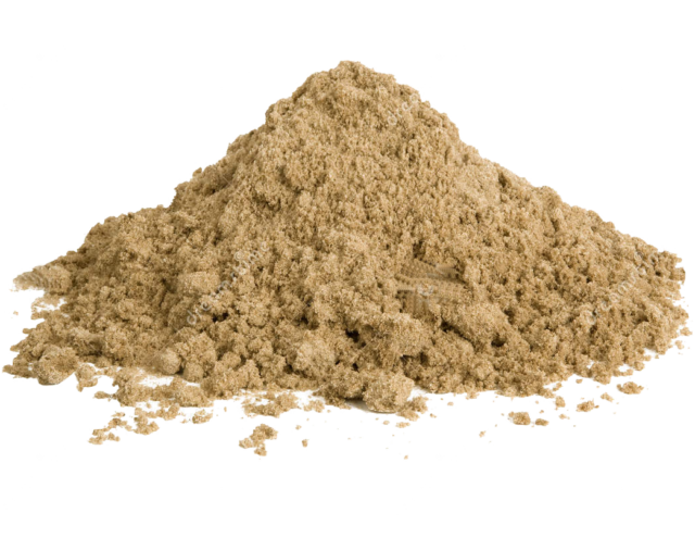 А также этот песок не содержит каких-то примесей, что обеспечит более прочное сцепление
