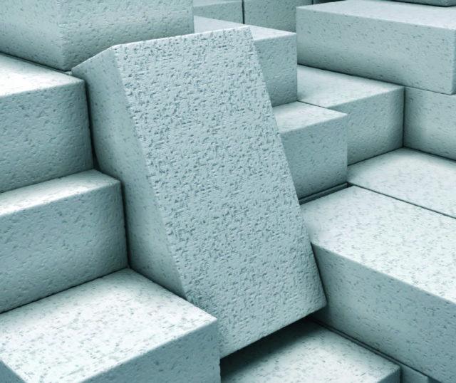 Газобетон производят только в заводских условиях в виде разнообразных изделий