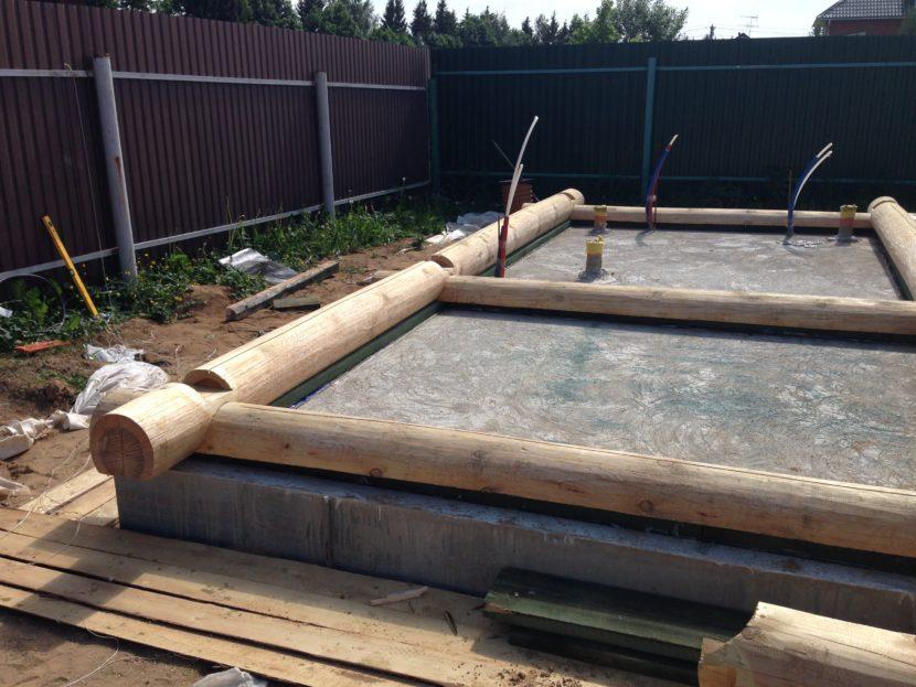 Как сделать фундамент для бани?