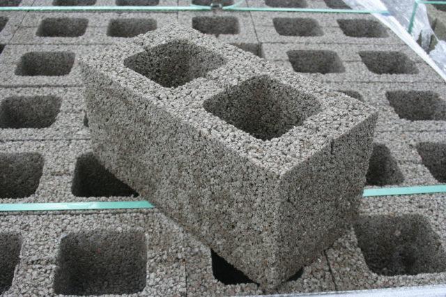Керамзитобетонные блоки устойчивы к воздействию огня