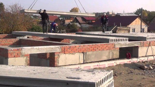 ЖБ плиты перекрытия совместимы практически со всеми стеновыми материалами, используемыми в гражданском и промышленном строительстве