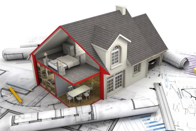 Чтобы составить план перекрытий, необходимо определить, какие несущие конструкции будут применены