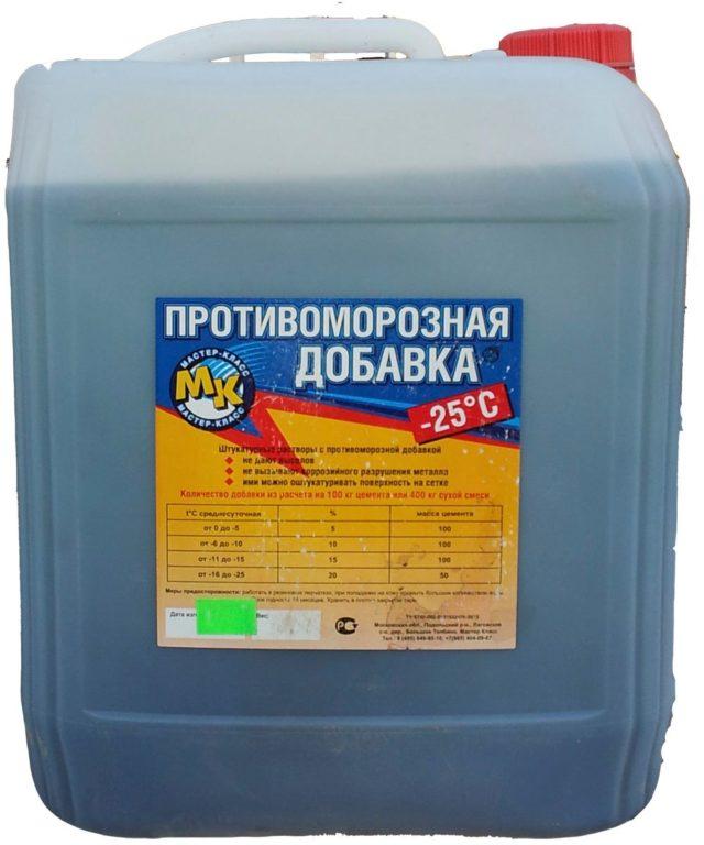 качество бетона с противоморозными добавками