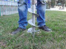 Как сделать бур для столбов своими руками?