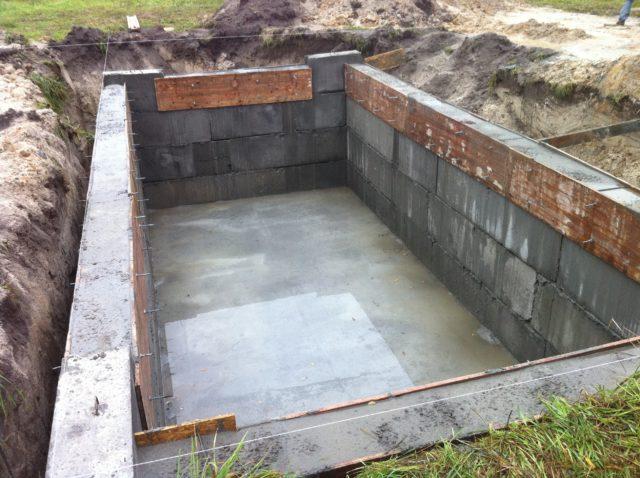 Глубина закладки зависит от промерзания почвы, прохождения грунтовых вод и типа грунта