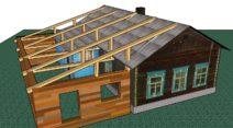 Строим пристройку к дому своими руками