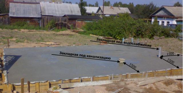 Для этой работы можно брать цемент M100, так как высокое качество здесь не требуется