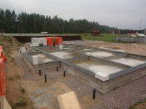 Устройство монолитной фундаментной плиты