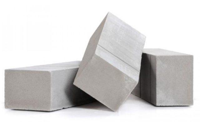 Производится он из смеси бетона и пенообразователя