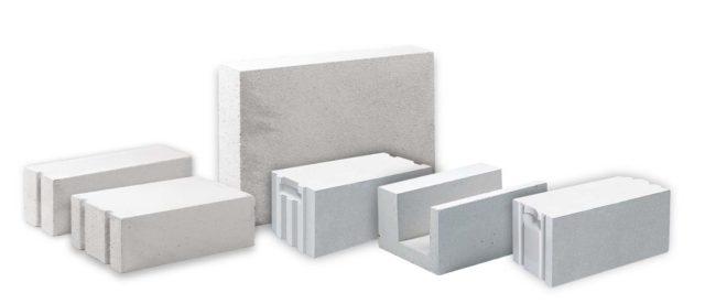 Блоки подходят для строительства сооружений любого типа и предназначения
