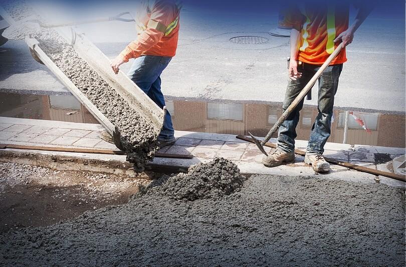 Схватывание и твердение бетонной смеси