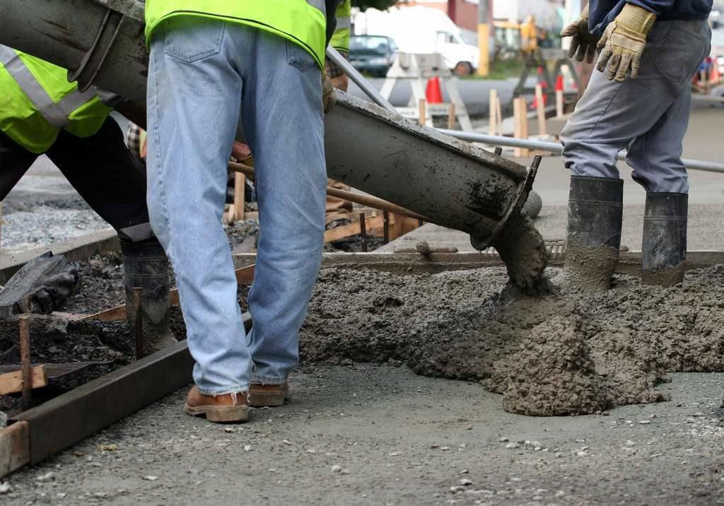 При высокой сухости и жаре бетон застынет всего за 2-3 дня