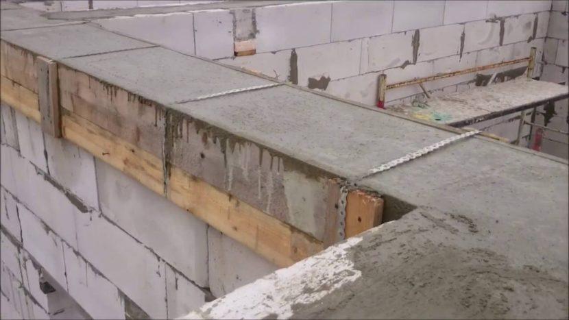 Что такое армопояс под плиты перекрытия и как его вязать?