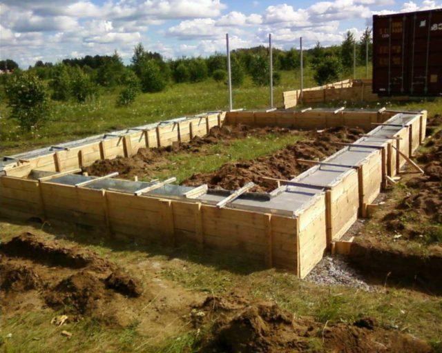 Как построить фундамент на глинистой почве