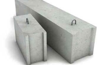 Таблица веса фундаментных блоков (ФБС)