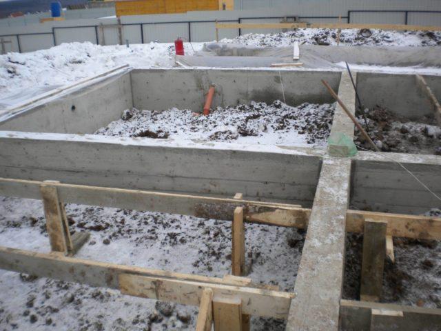 Как правильно бетонировать зимой